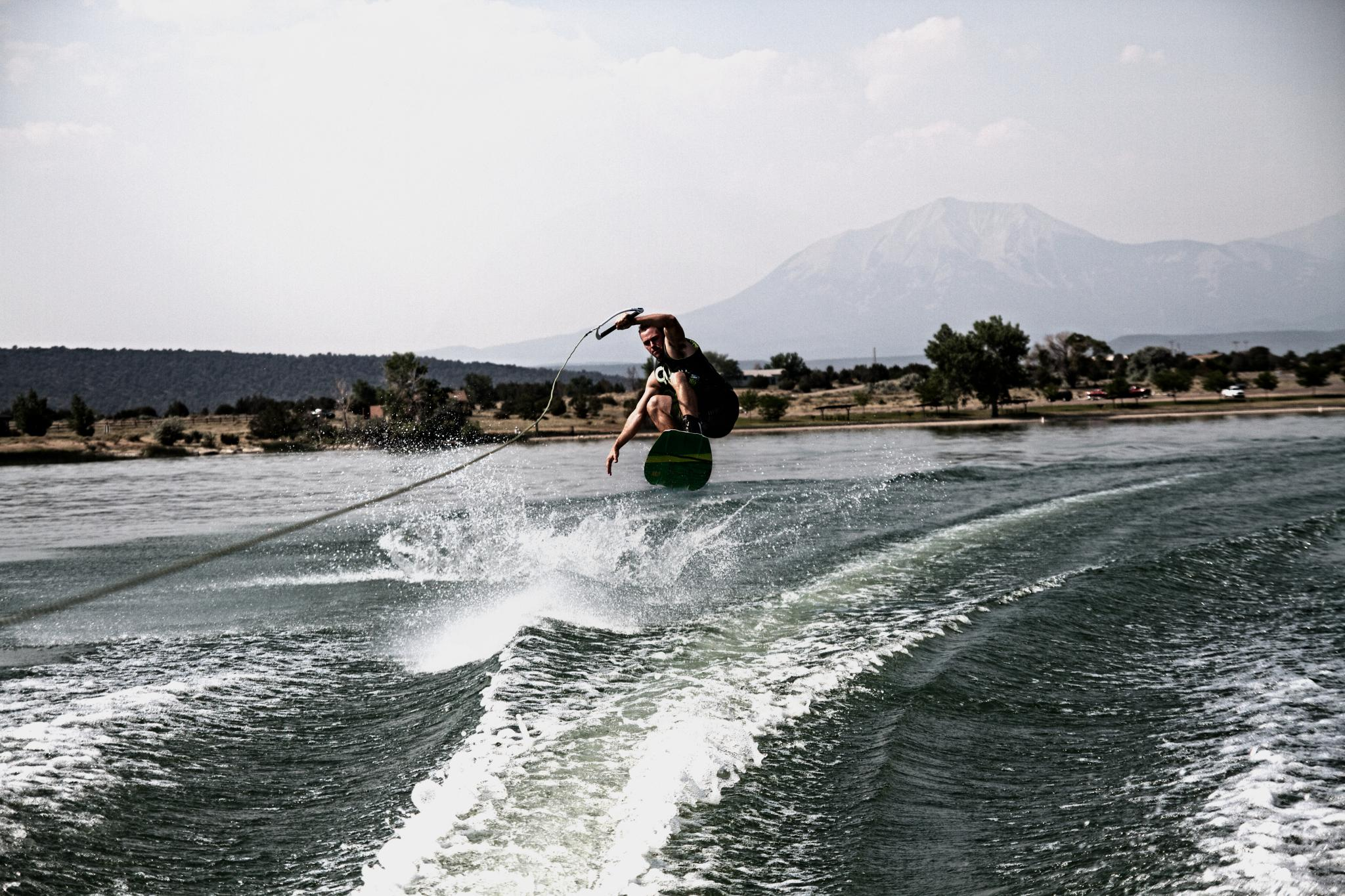 Liquid Trampoline (5972717787).jpg My buddy Anthony wakeboarding down in Walsenburg, Colorado. Kid is pretty good. Sidenote: DAMN I really need