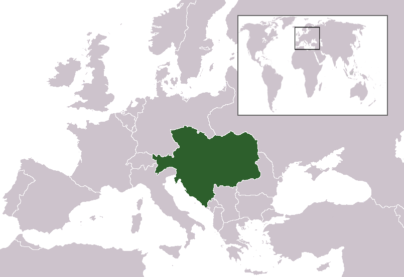 Atlas Of AustriaHungary Wikimedia Commons - Which continent is austria located