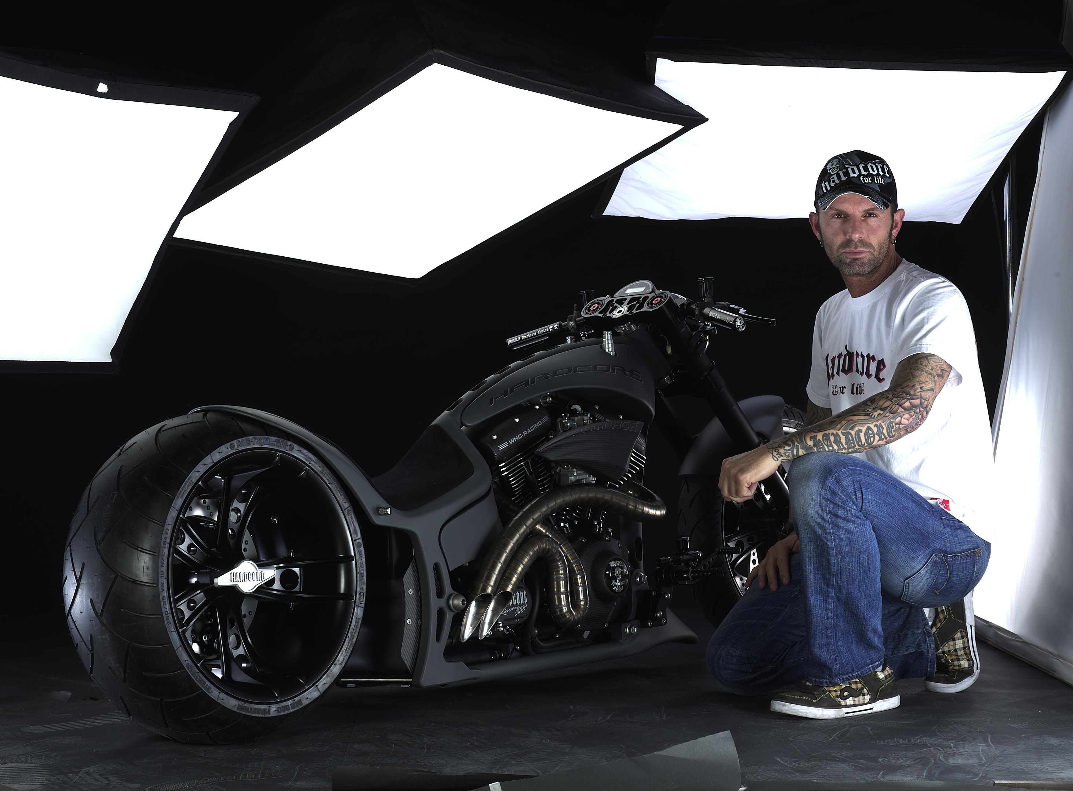 James dean tribute bike by walz hardcore cycles