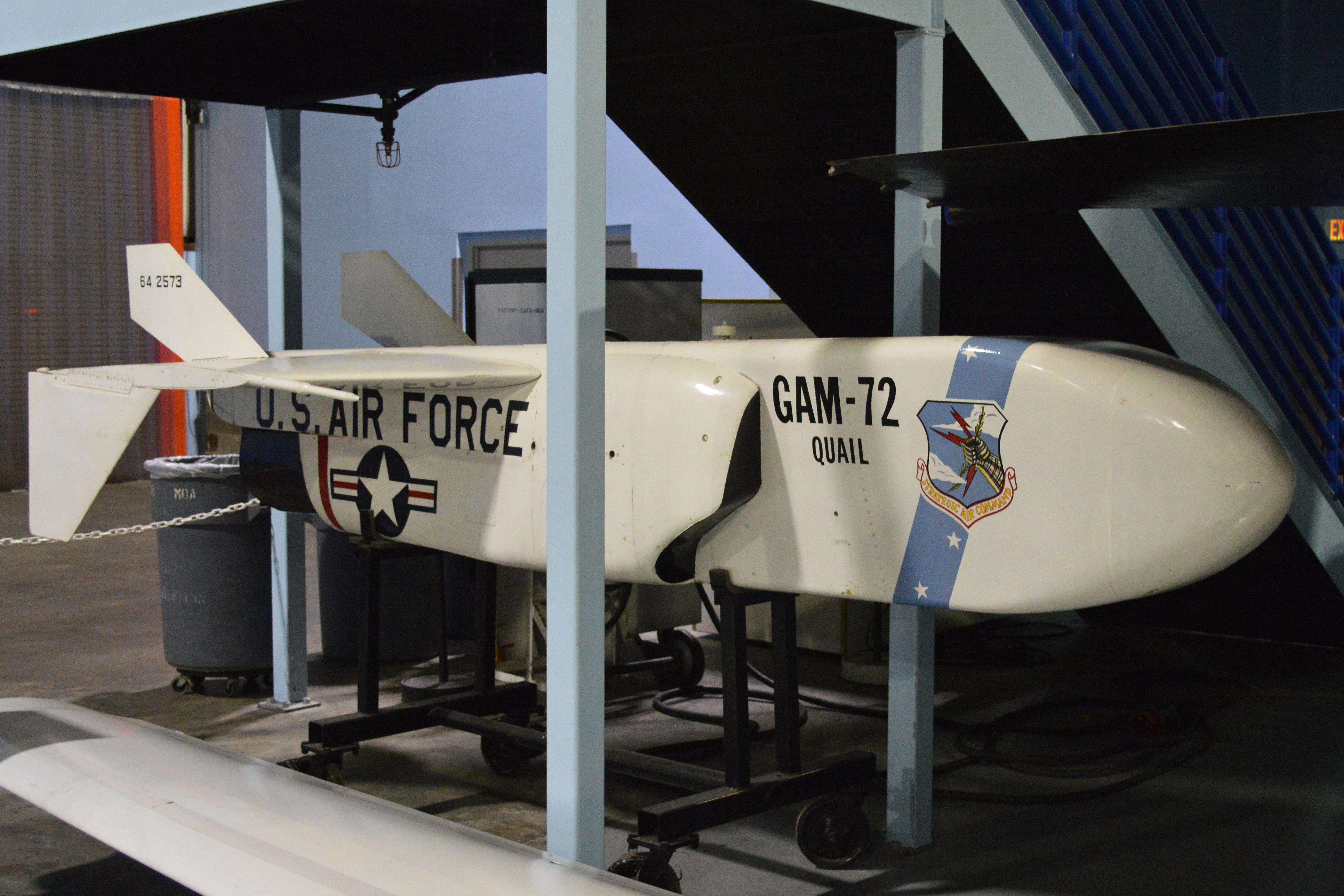 File:McDonnell GAM-72 Quail '64-2573' (11452592066).