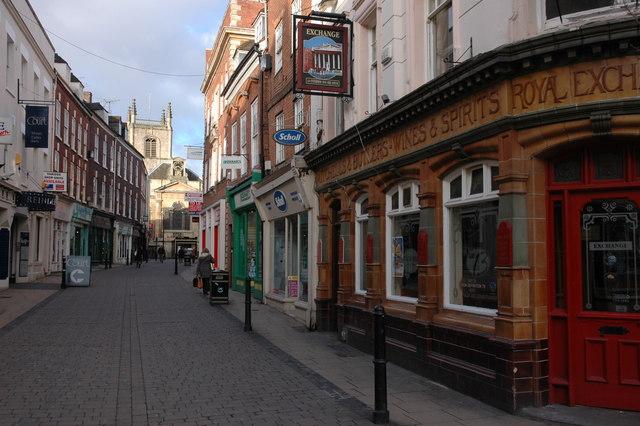 File:Mealcheapen Street, Worcester - geograph.org.uk - 351438.jpg