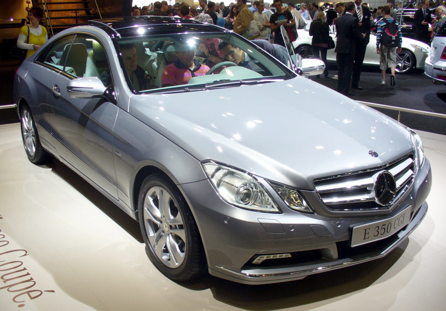 Filemercedes Benz E 350 Cgi Coupéjpg Wikimedia Commons