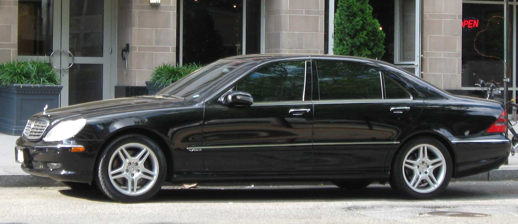 File Mercedes Benz S Class 06 22 2009 Jpg Wikimedia Commons