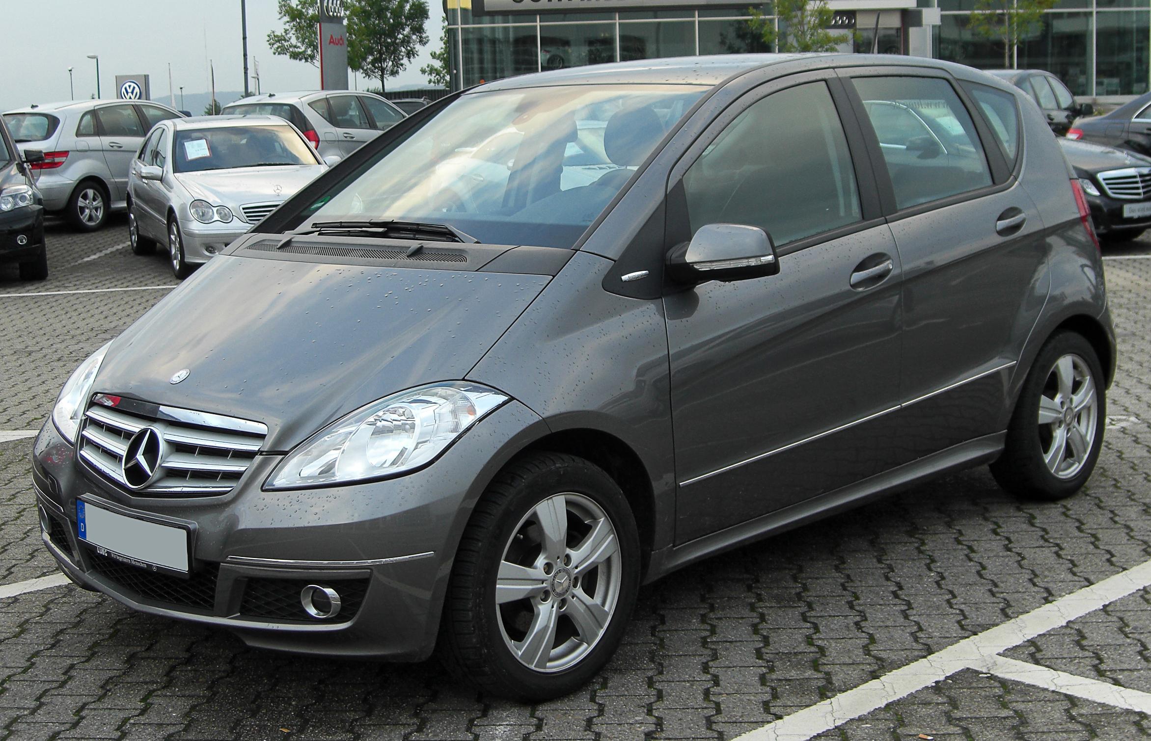 file mercedes a 150 avantgarde w169 facelift front 20100818 jpg rh commons wikimedia org Mercedes W169 Key Mercedes A Klasse