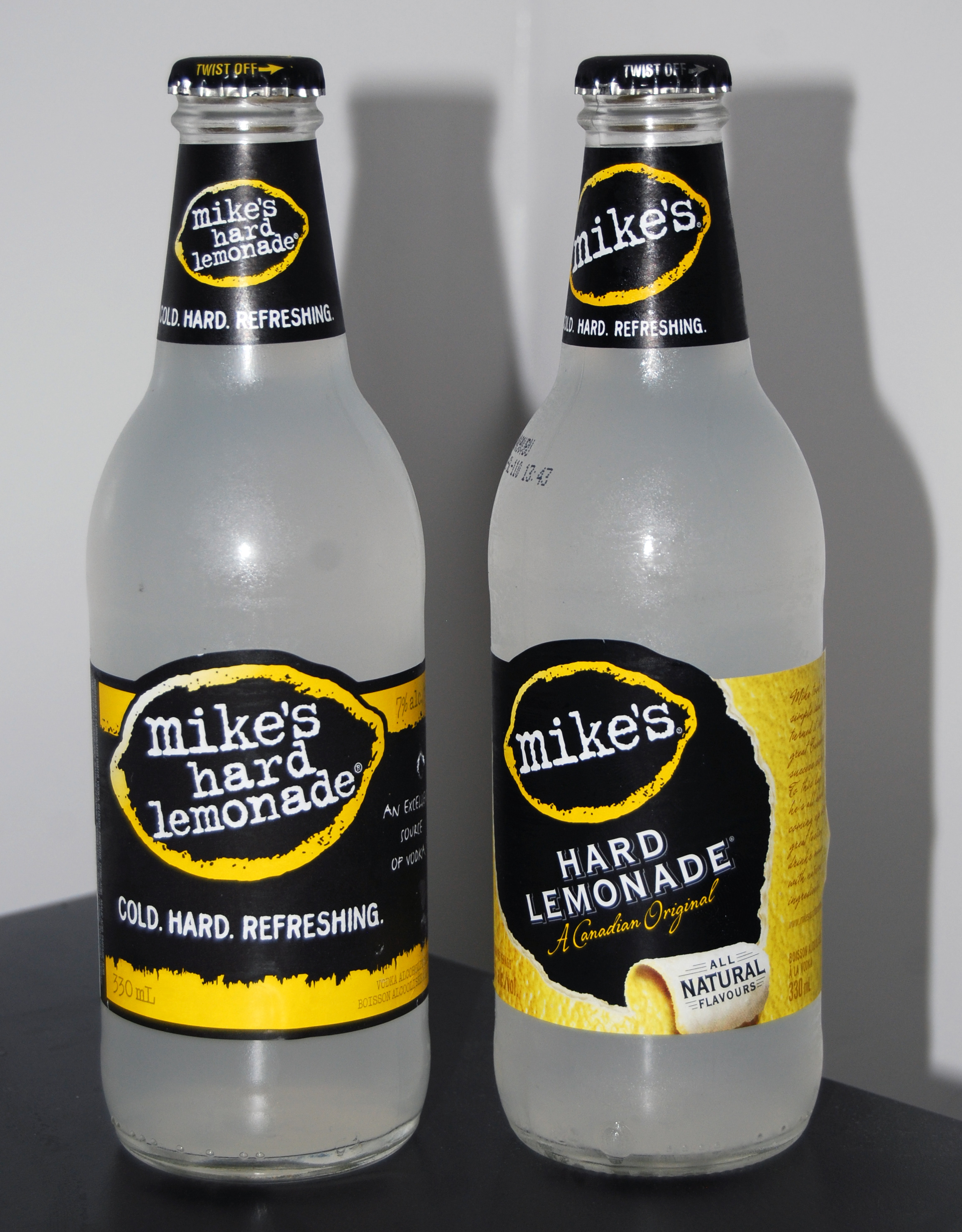 File Mikes Hard Lemonade Bottle 330ml Canada Old7 And New