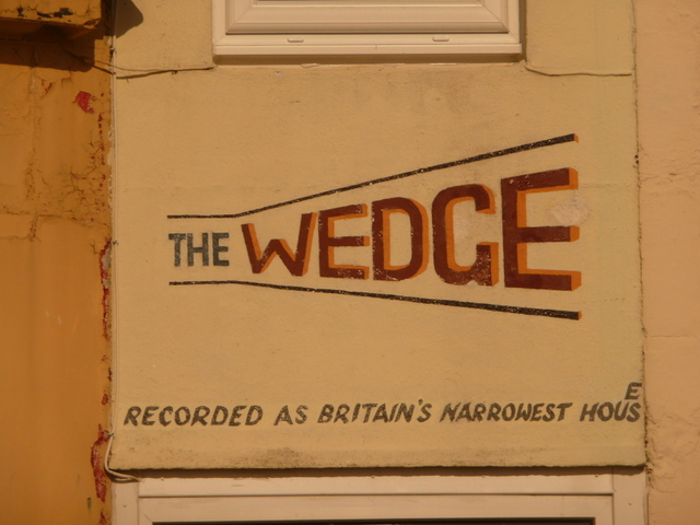 Millport, the writing on The Wedge - geograph.org.uk - 1539724