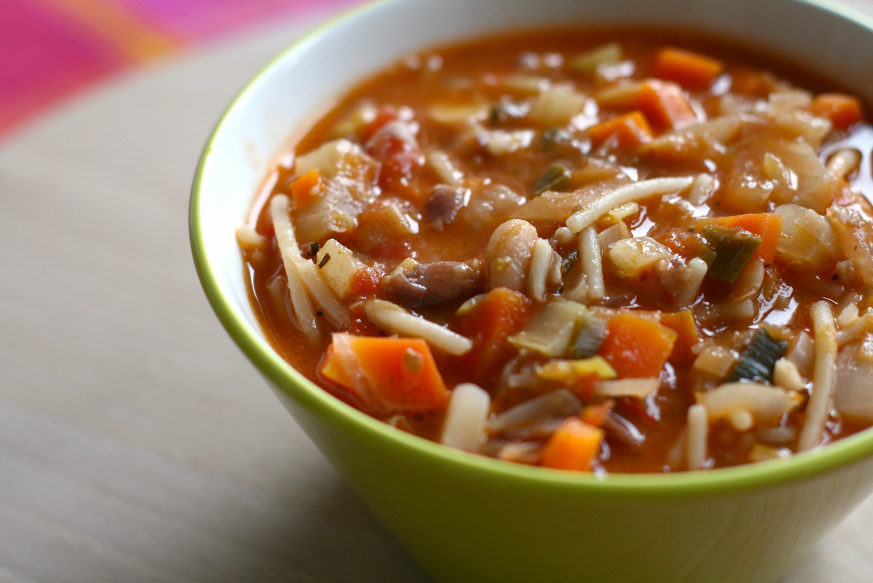 Minestrone soup - Stop Wasting Thyme! Tips for No-Waste Cooking