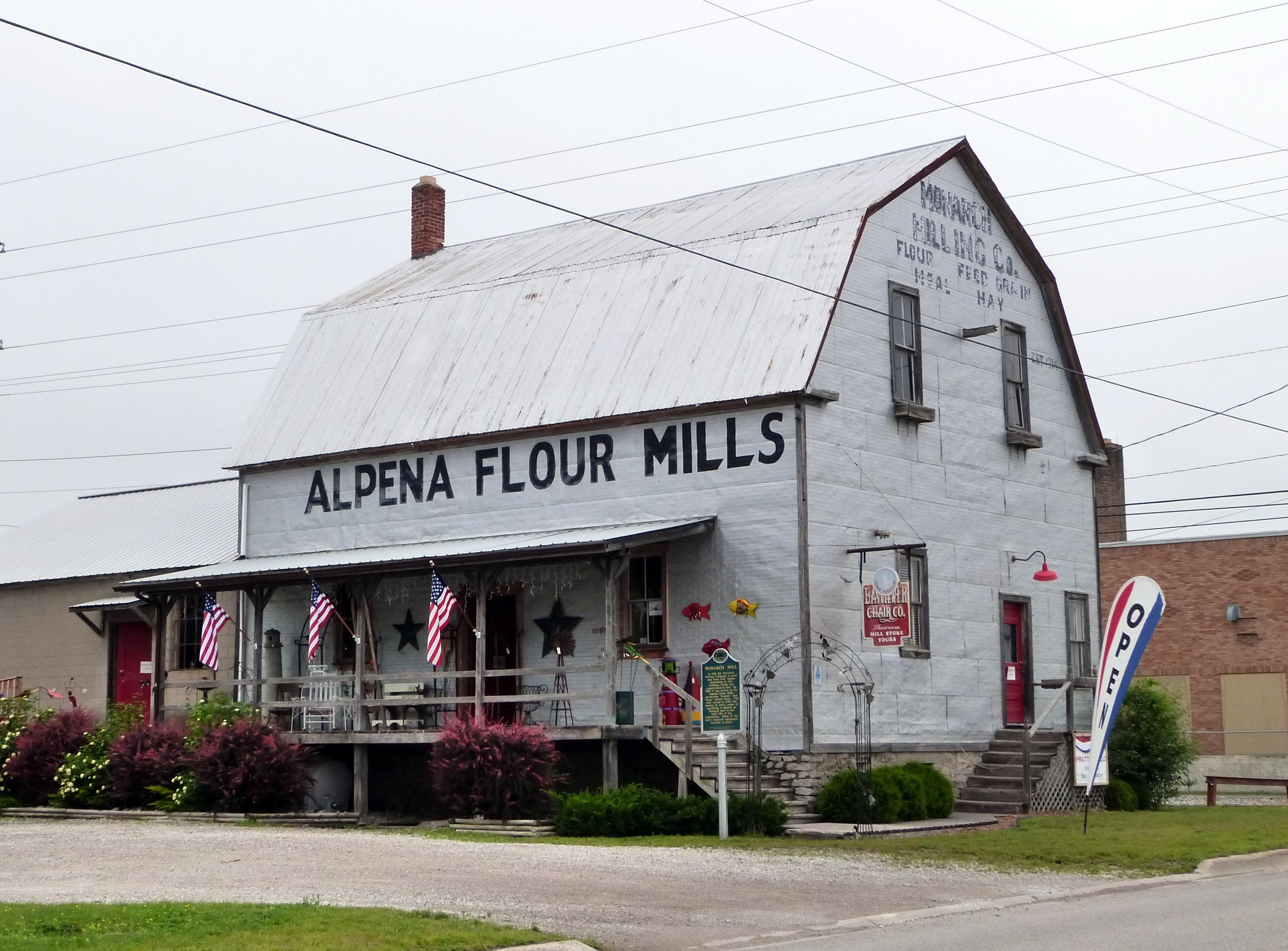 Alpena (MI) United States  city photos : Description Monarch Mill Alpena Michigan