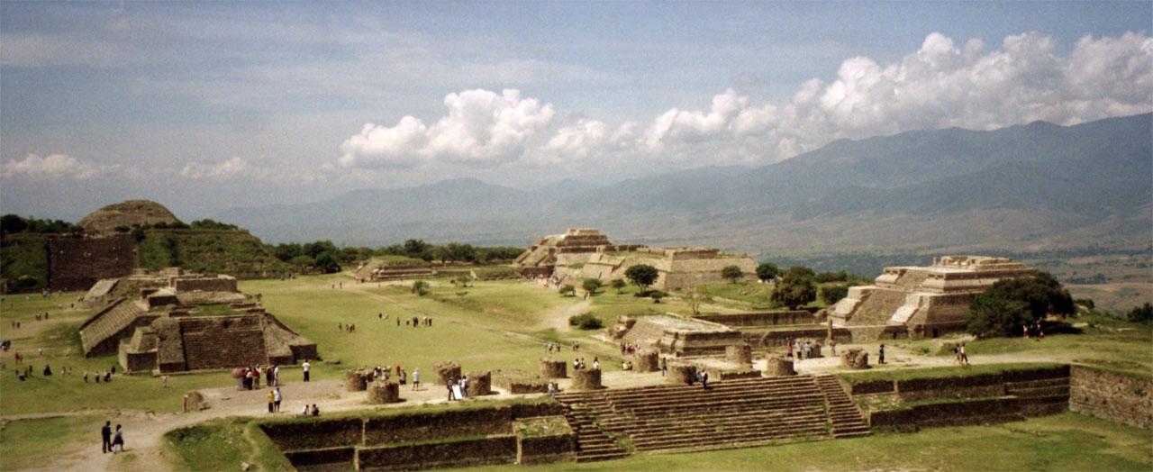 Mexico Monte_Alban_view
