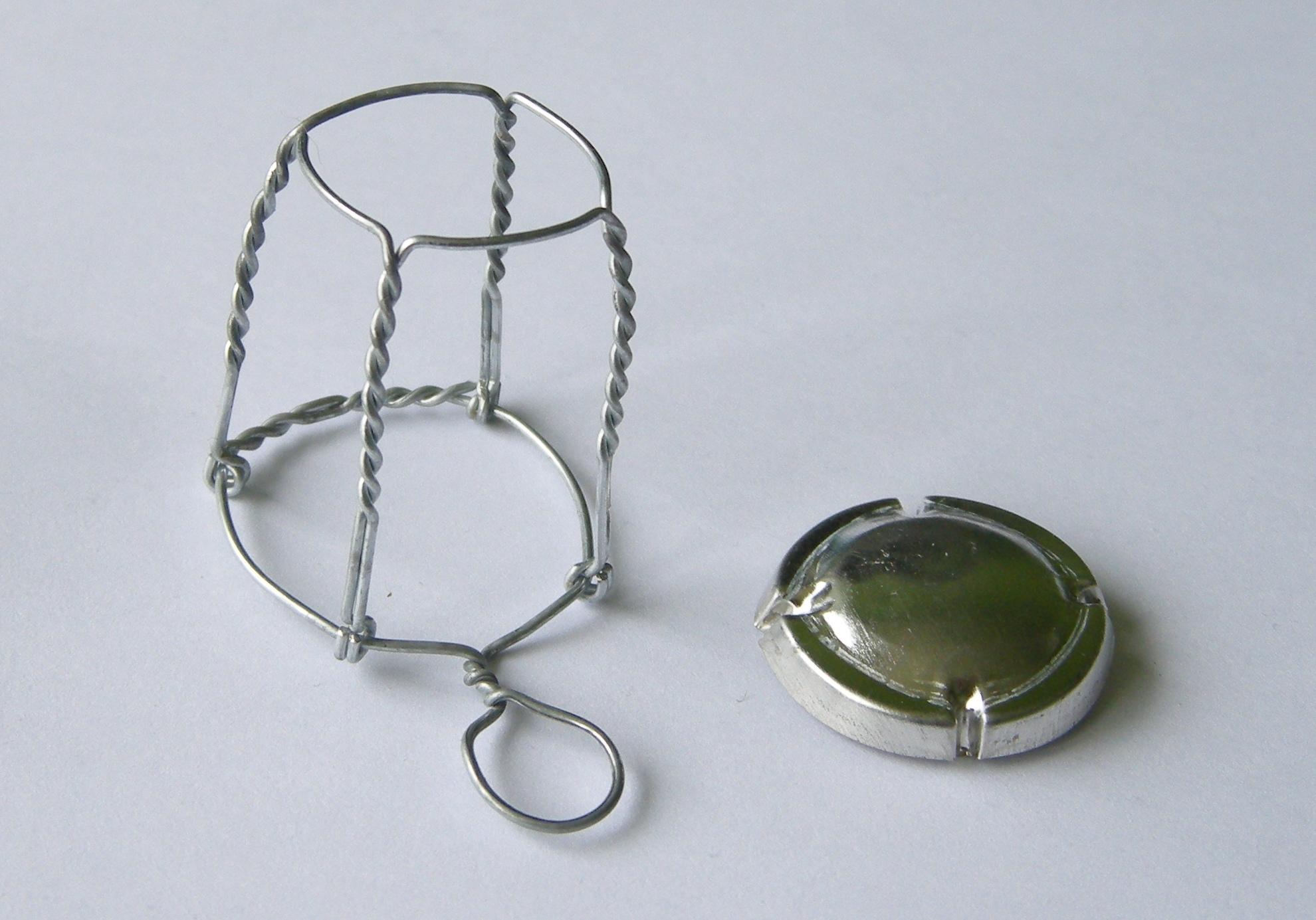 Bouchon de LDR Muselet_capsule_wire-cap