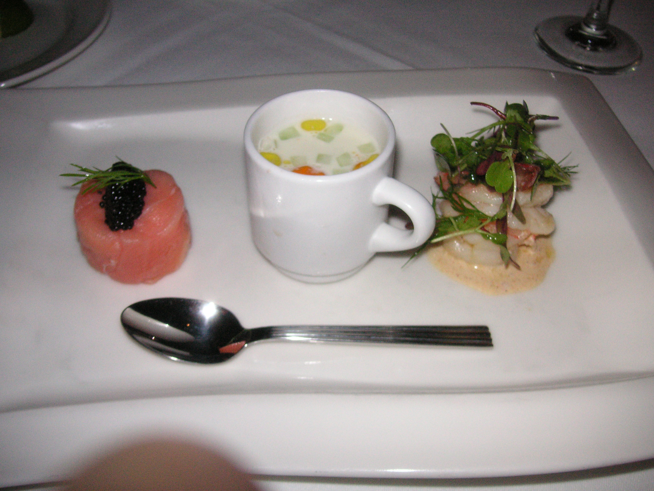 Filenew Orleans Seafood Trio 1st Course Restaurant August Jpg