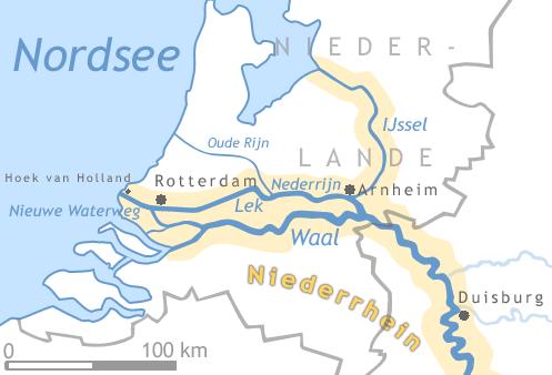 rhein holland karte File:Niederrhein Karte.png   Wikimedia Commons