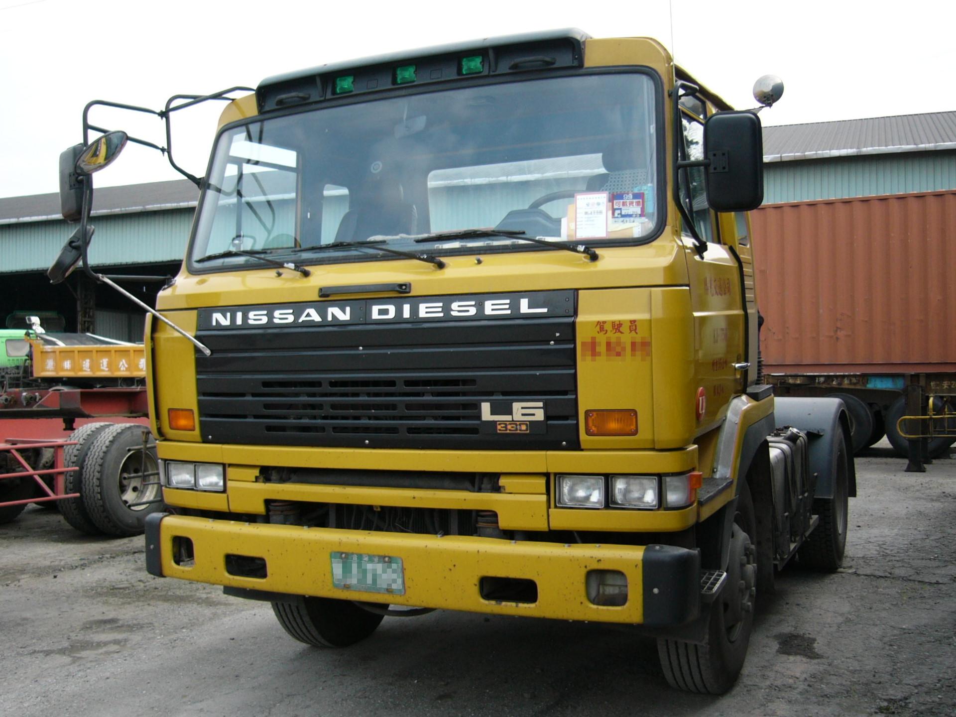 file nissan diesel l6 330 tractor unit in. Black Bedroom Furniture Sets. Home Design Ideas