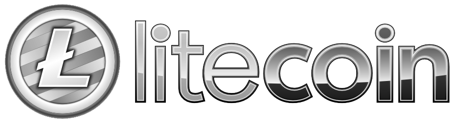 File:Official Litecoin Logo With Text.png - Wikimedia Commons