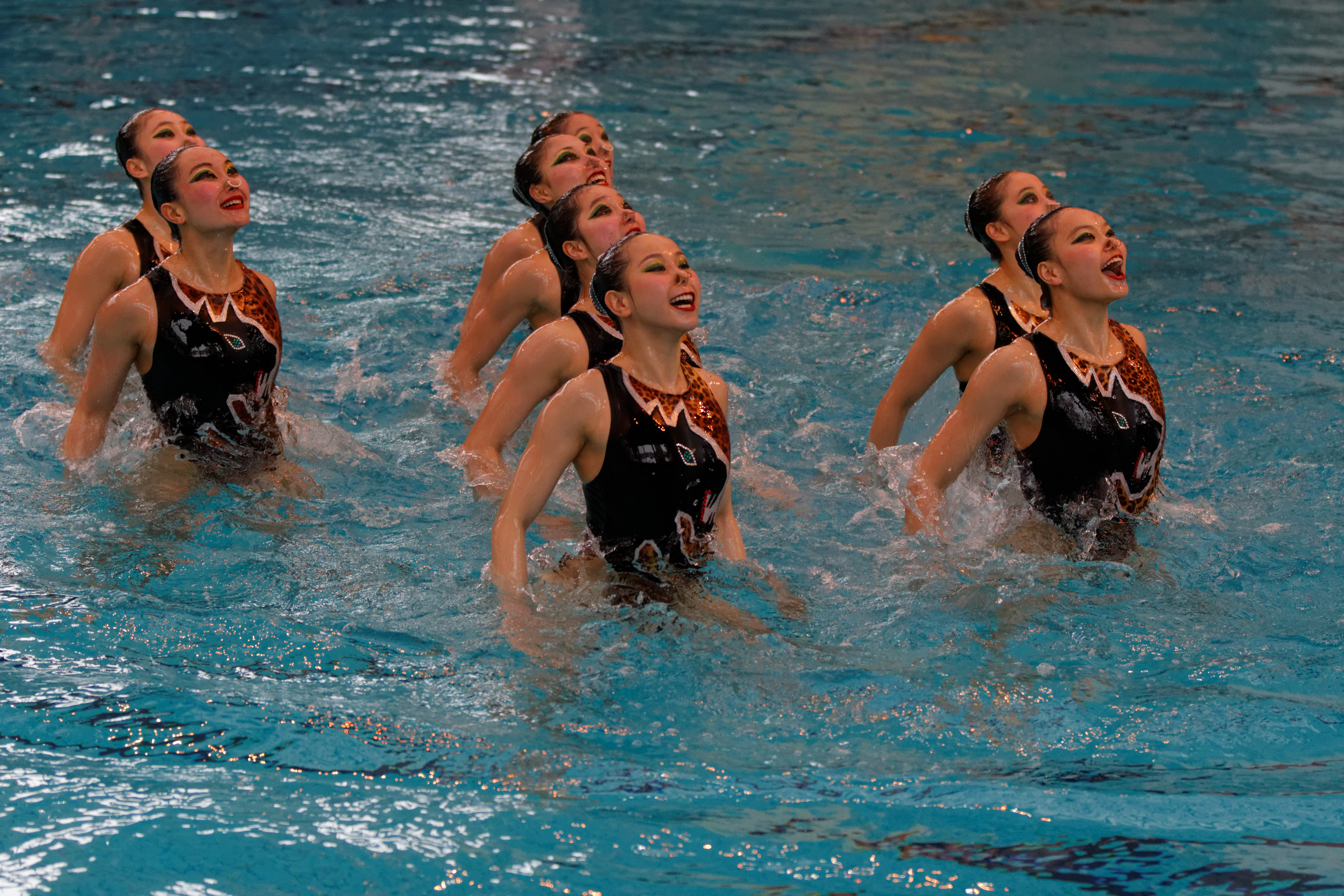 Synchronized Swimming Team
