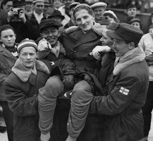 Cross-country skiing at the 1952 Winter Olympics – Mens 4 × 10 kilometre relay