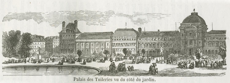 File palais des tuileries vu du c t du jardin - Terrasse des feuillants jardin des tuileries ...