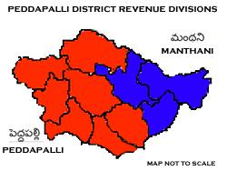 Peddapalli district - Wikipedia