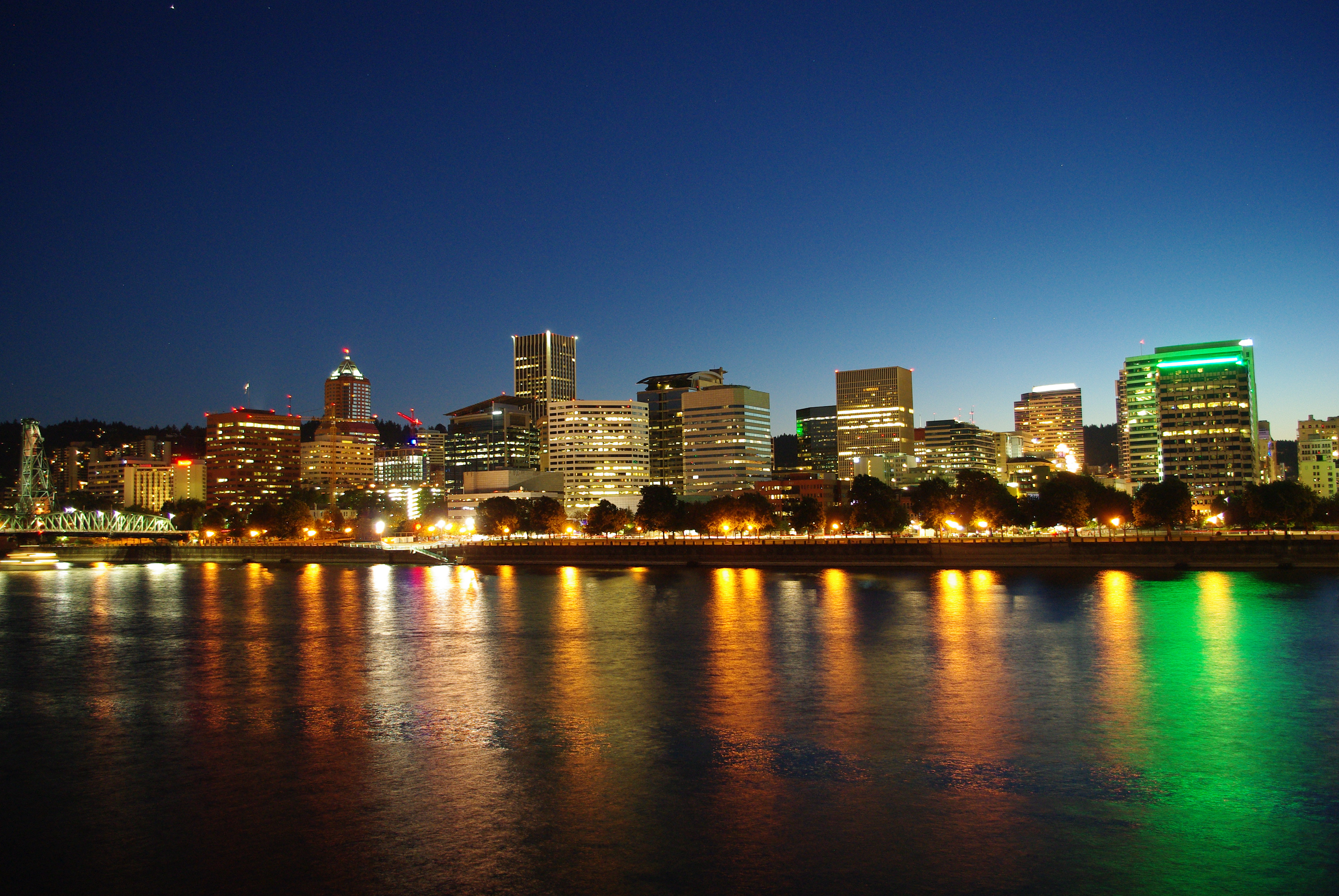 The Skyline of Portland has changes so much... : Portland