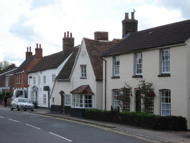 Post Office and High Street, Great Barford - geograph.org.uk - 449735