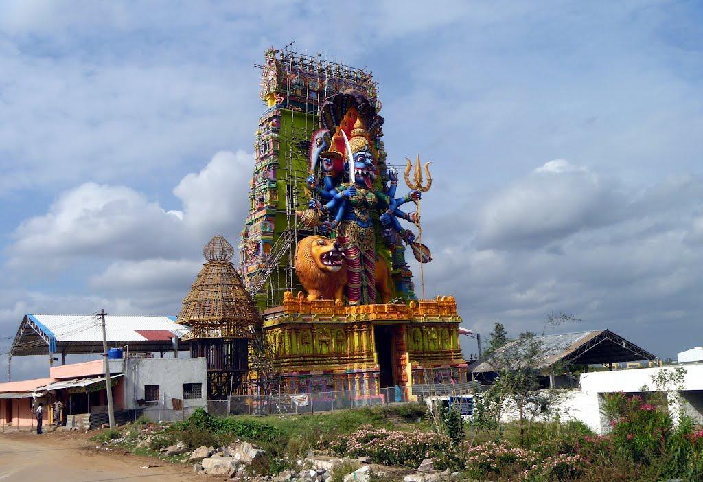 Pratyangira Temple Hosur Wikipedia