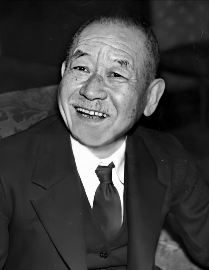 Prime Minister Keisuke Okada cropped