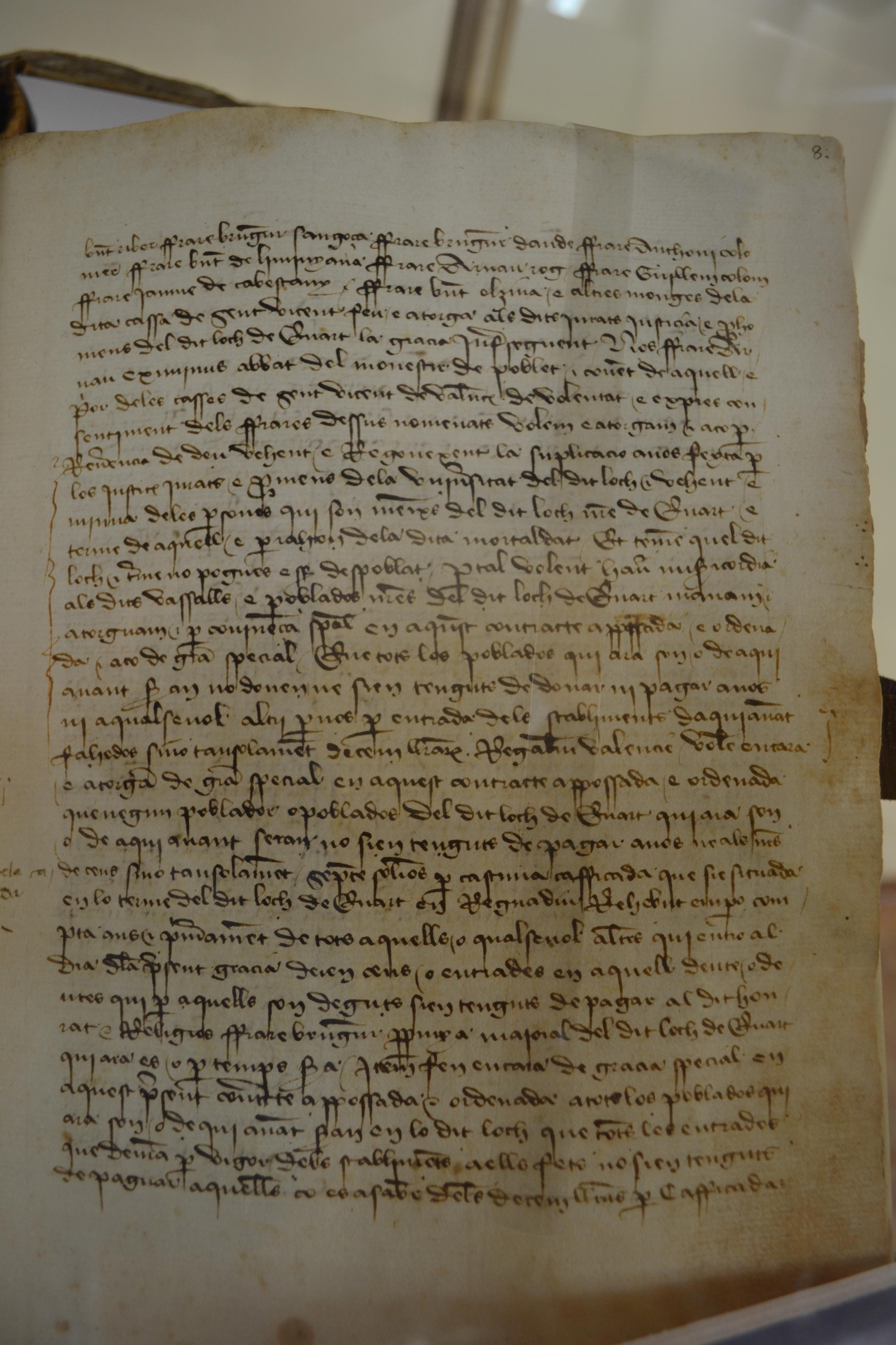 File:Reforma Carta puebla de Cuart de Poblet. Archivo del Reino de ...