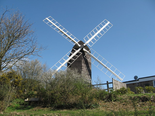 Reigate Windmill, Reigate Heath, Surrey - geograph.org.uk - 1242823