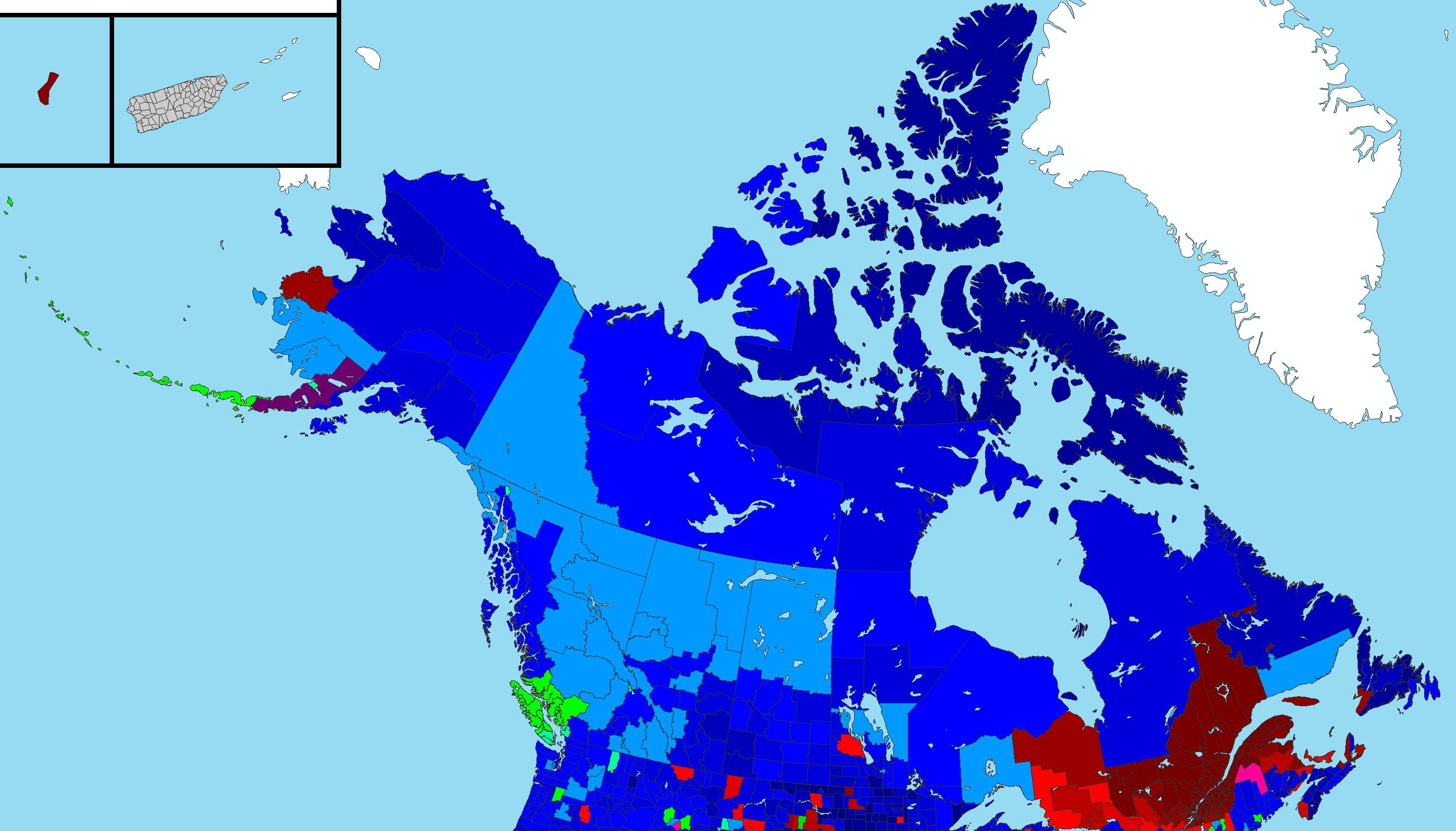 Canada Religion Map File:Religion in Canada.png   Wikipedia