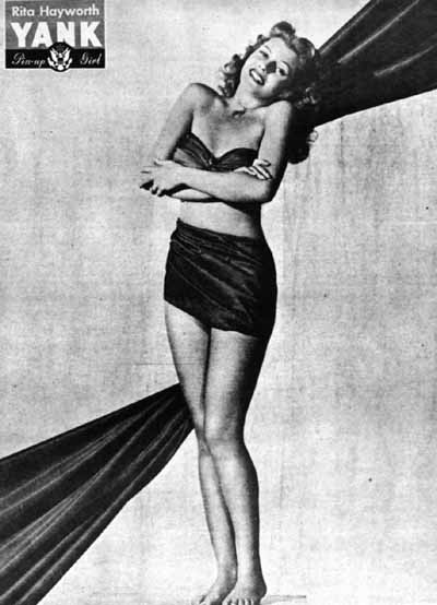 Rita Hayworth, pin-up girl - Rita Hayworth