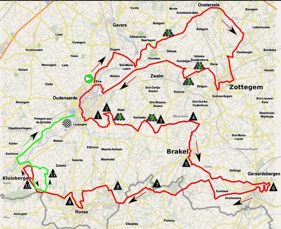 La Vuelta 2017 Parcours
