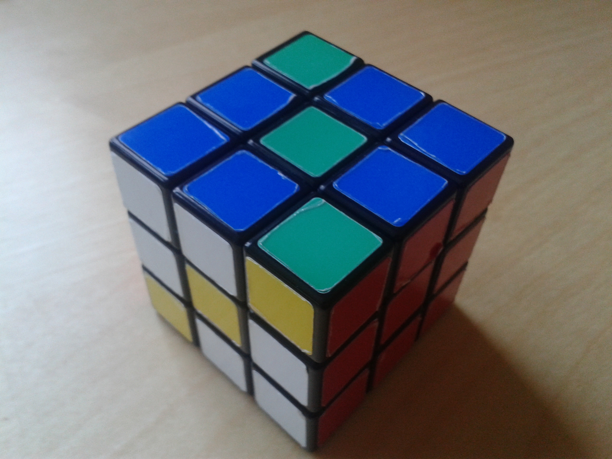 Cool Rubiks Cube Patterns Cool Ideas