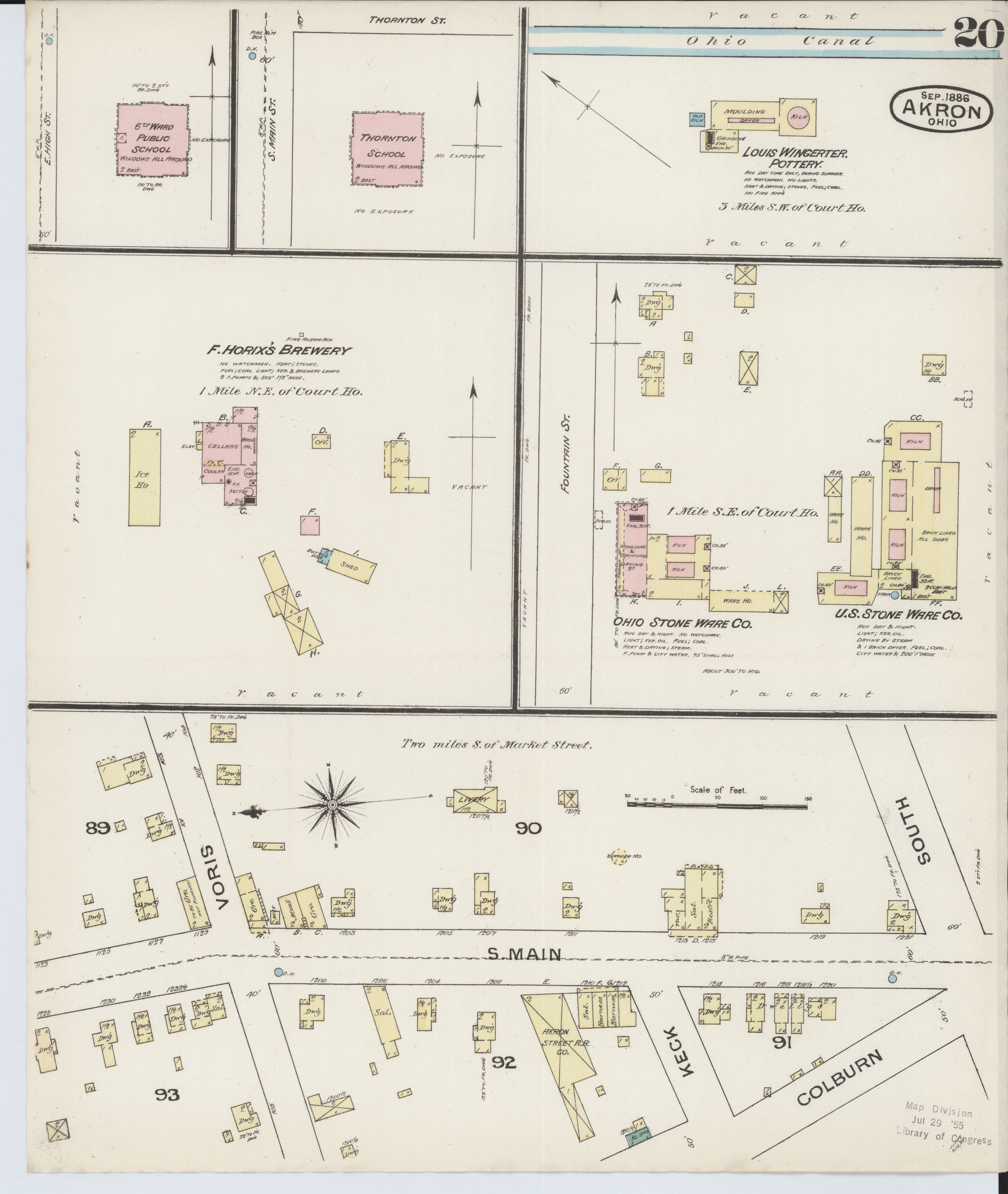 File:Sanborn Fire Insurance Map from Akron, Summit County ... on street map of fairlawn ohio, map of grand lake ohio, map of montrose ohio, map of berlin heights ohio, map of bratenahl ohio, map of sharon center ohio, map of frazeysburg ohio, map of walbridge ohio, map of copley ohio, map of cuyahoga river ohio, map of new holland ohio, map of california ohio, map of cincinnati ohio, map of new york ohio, map of alger ohio, map of franklin township ohio, map of black river ohio, map of nashville ohio, map of cuyahoga falls ohio, map of canton ohio,