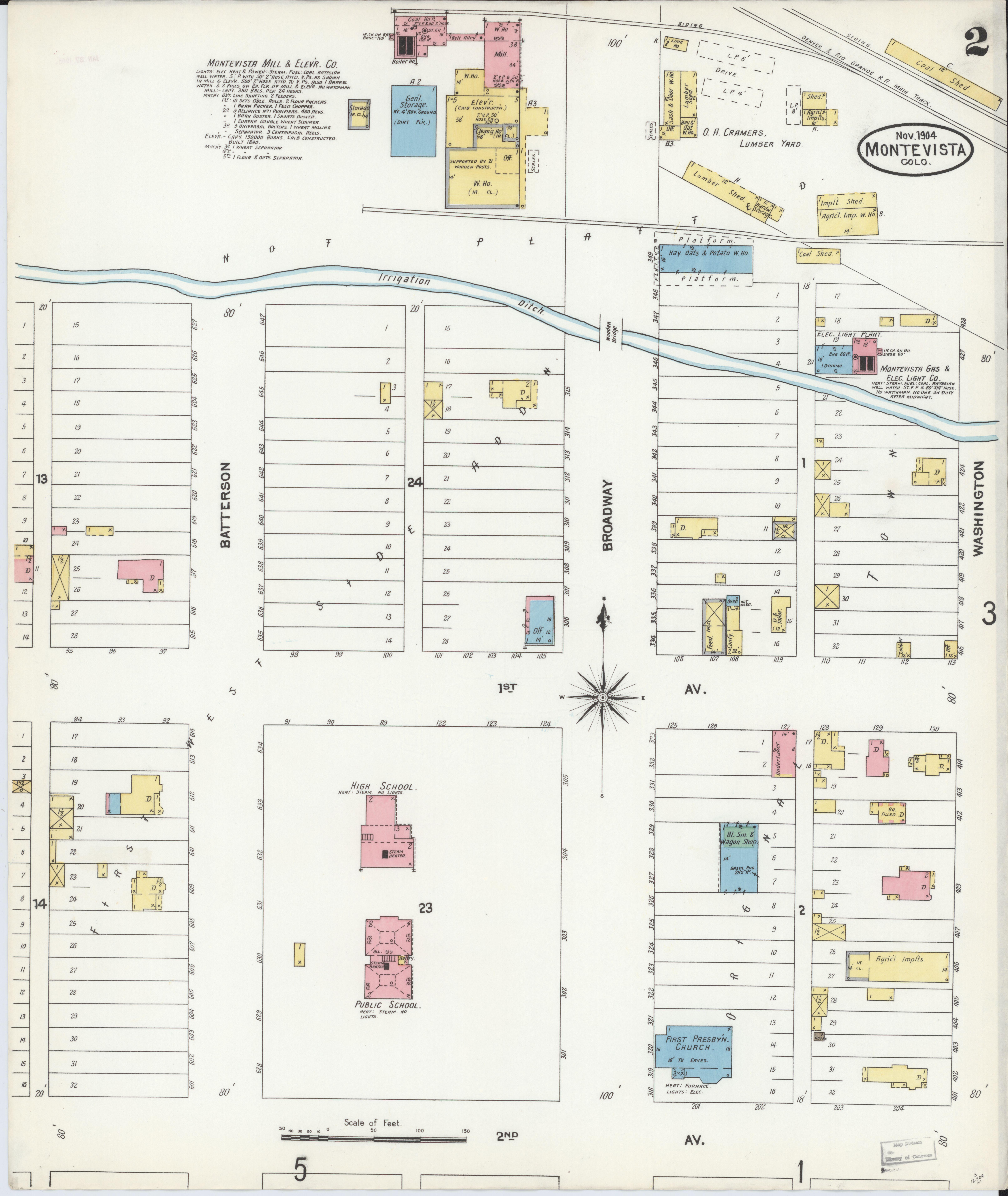 File Sanborn Fire Insurance Map From Monte Vista Rio Grande County