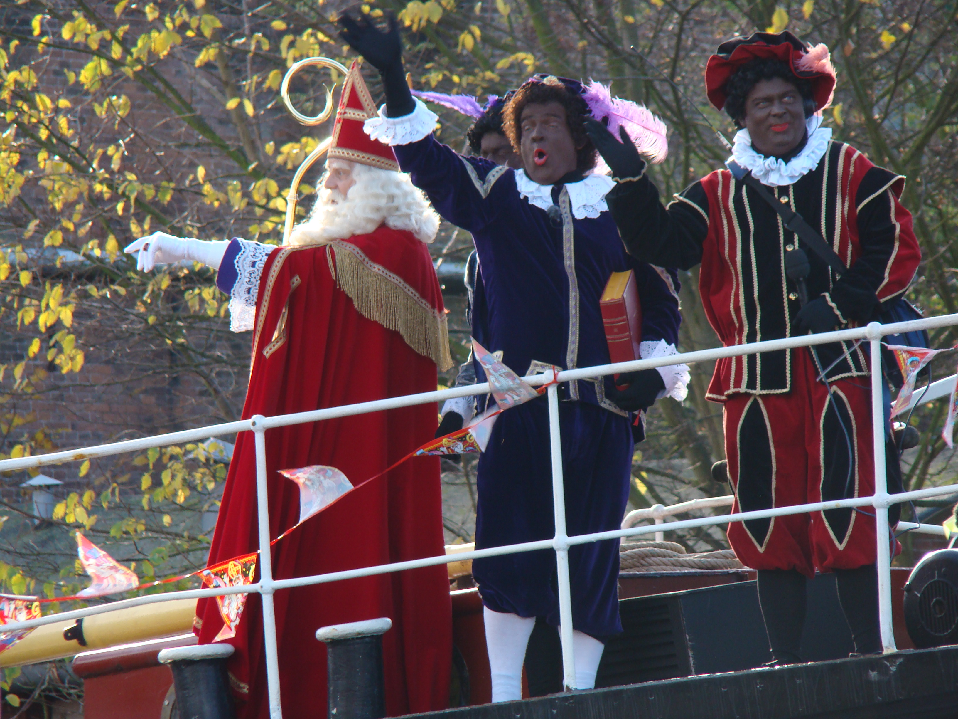Sinterklaas – der Nikolaus in den Niederlanden