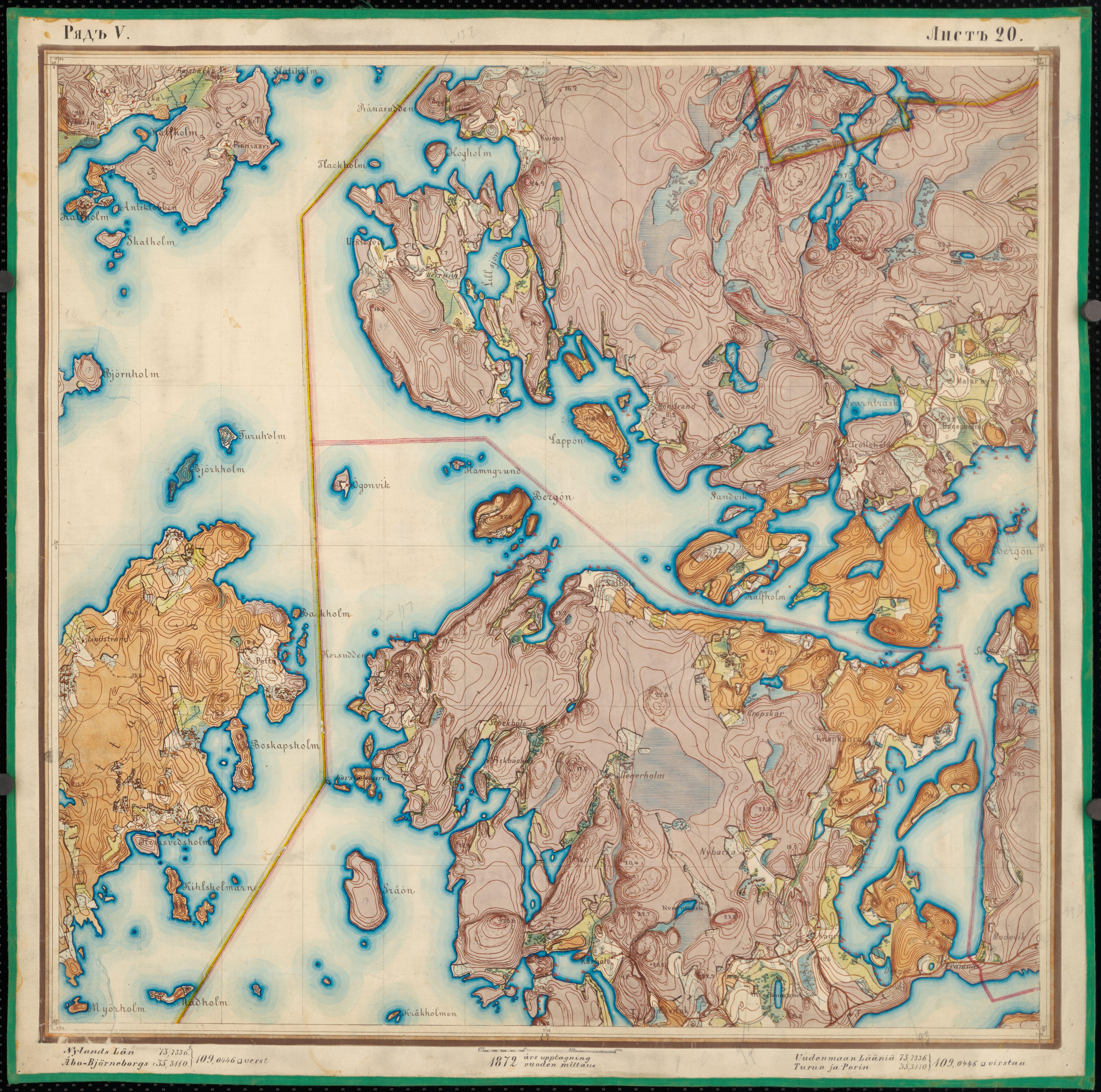 File Senate Atlas 1870 1907 Sheet V 20 Tenhola Jpg Wikimedia