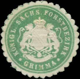 Ein Forstbezirk (Forstgutsbezi