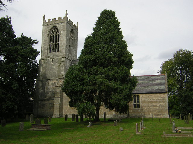 St.Oswald's church, Dunham-on-Trent, Notts. - geograph.org.uk - 50515