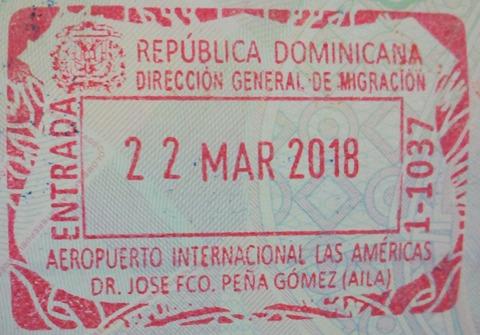 Visa For Dominican Republic Travel Stsy In New York