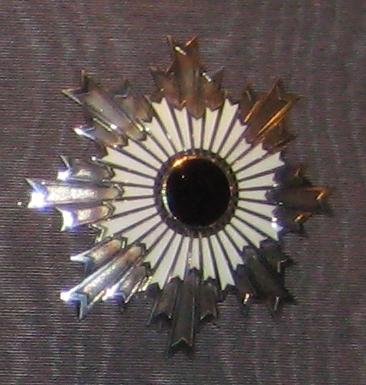 Star of the order of the rising sun