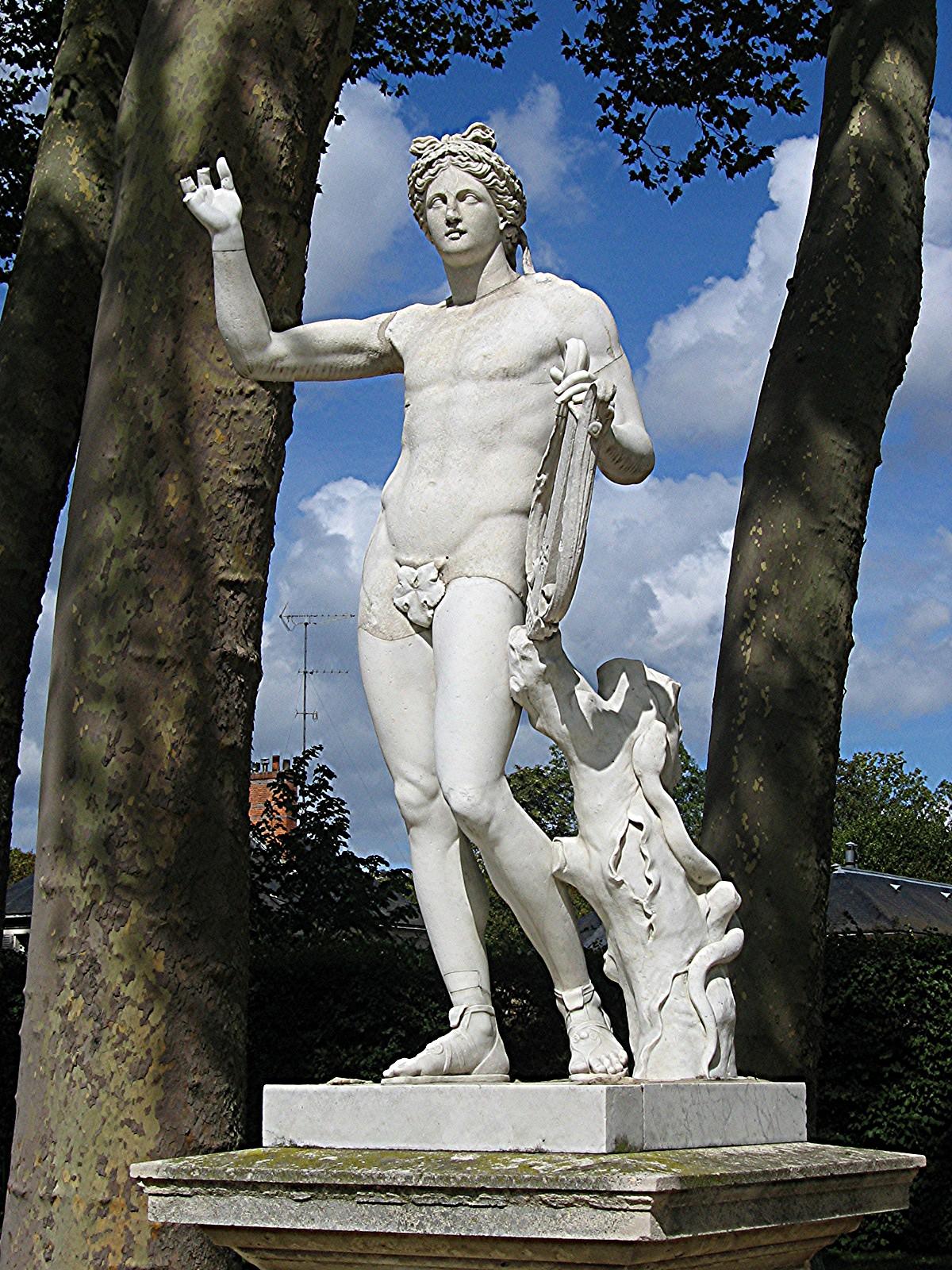 Musique et mythes de la gr ce antique eclaircie apr s la - Statue de jardin belgique ...