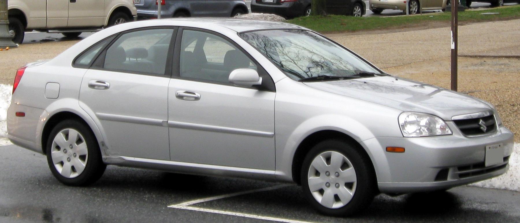 2008 Suzuki Forenza Information