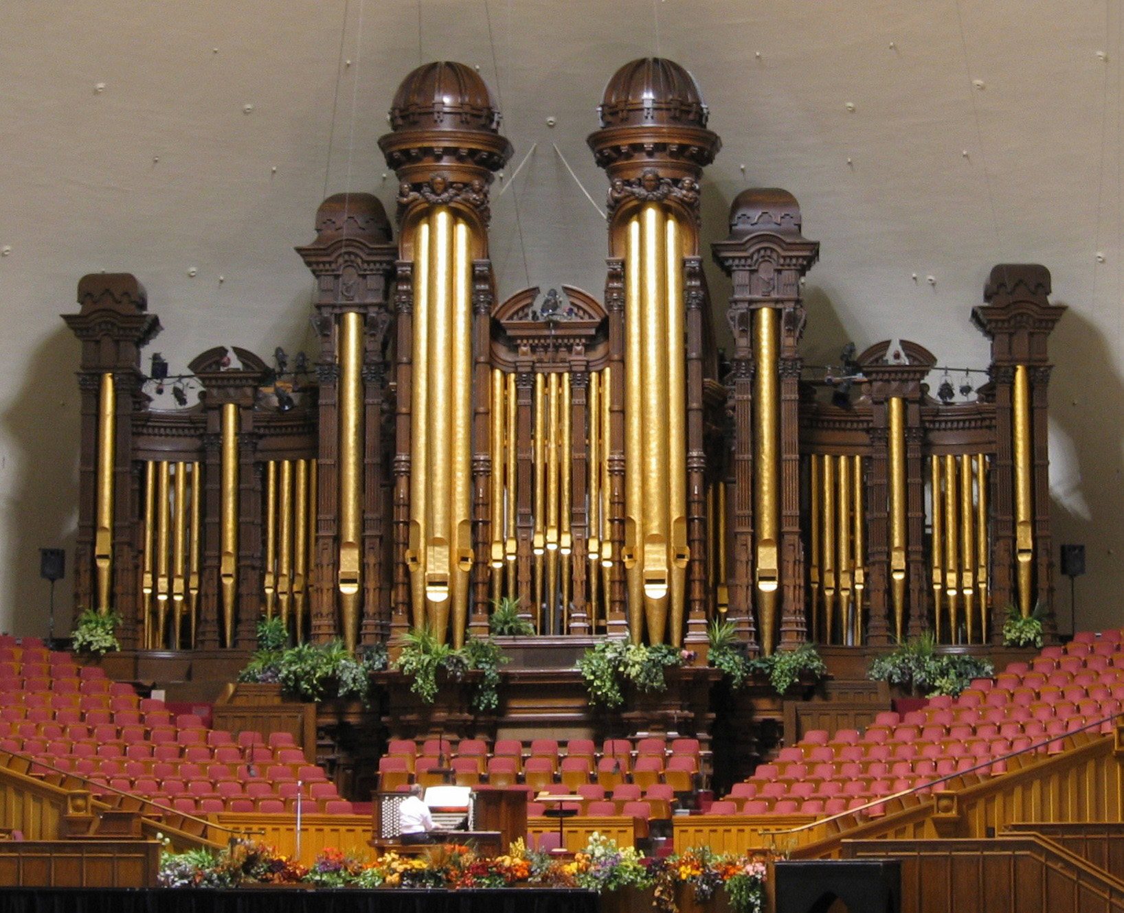 Salt Lake Tabernacle organ - Wikipedia