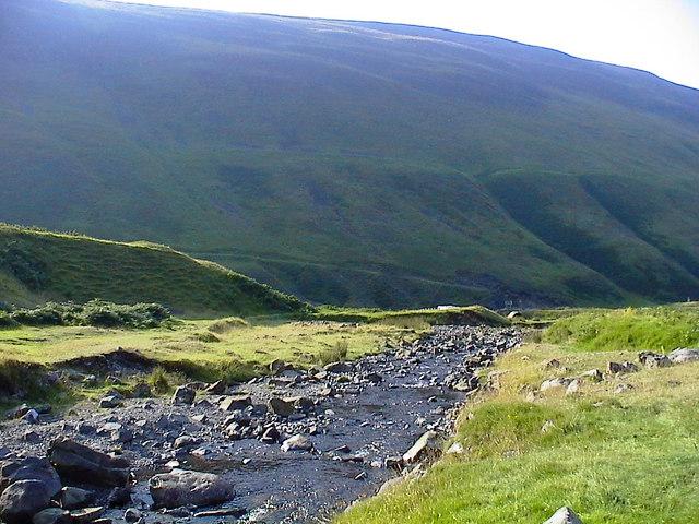 Tail Burn near Tailburn Bridge - geograph.org.uk - 1239033