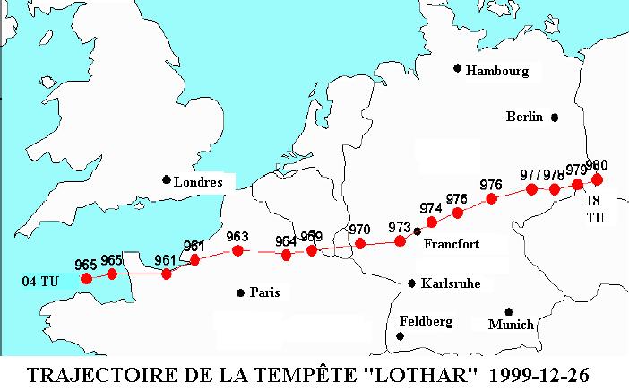 Tempête Lothar