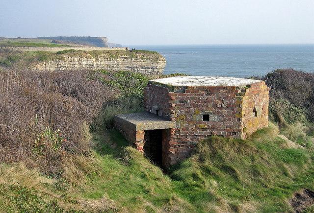 The Coast At War, Tresilian Bay. - geograph.org.uk - 376934