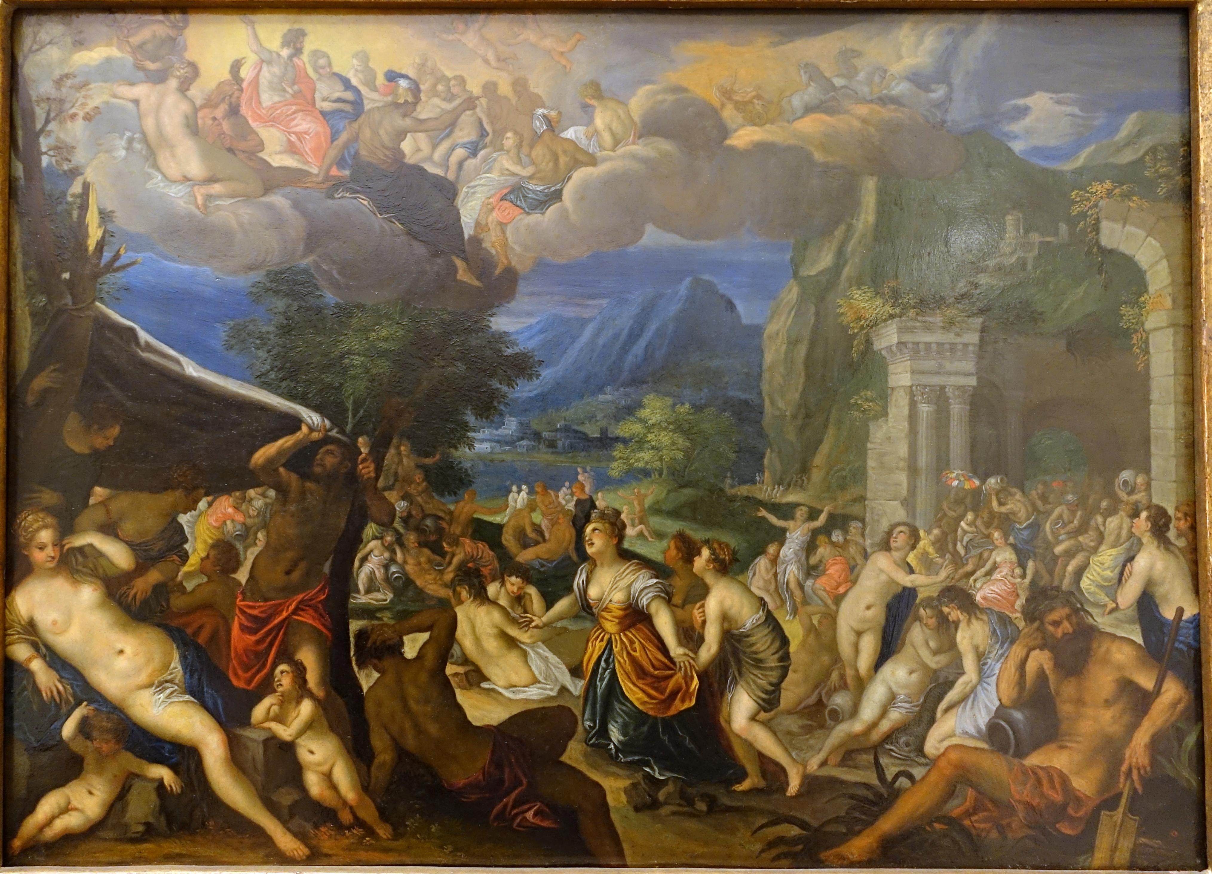 File:The Fall of Phaeton by Johann Rottenhammer, c. 1604, copper -