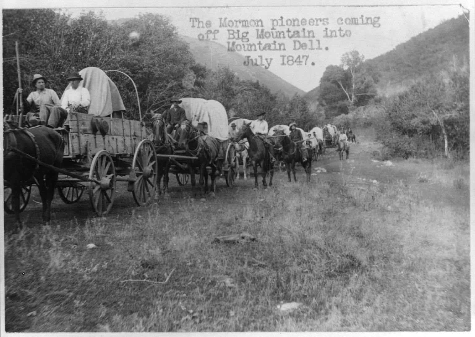 Trace Utah Genealogists have access to large Mormon pioneer databases for family history research