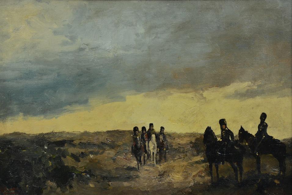 File The Return Of The Calvary By George Hendrik Breitner
