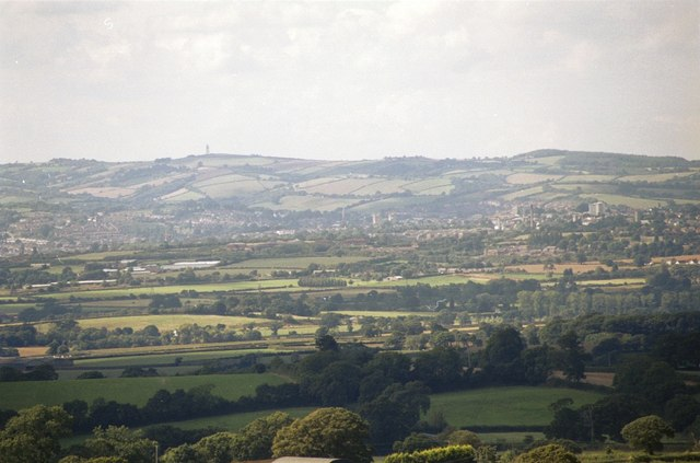 The View from Woodbury Common - geograph.org.uk - 131314